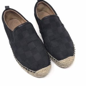 Marc By Marc Jacobs Shoes - Marc by Marc Jacobs Black Checker Espadrille Flats